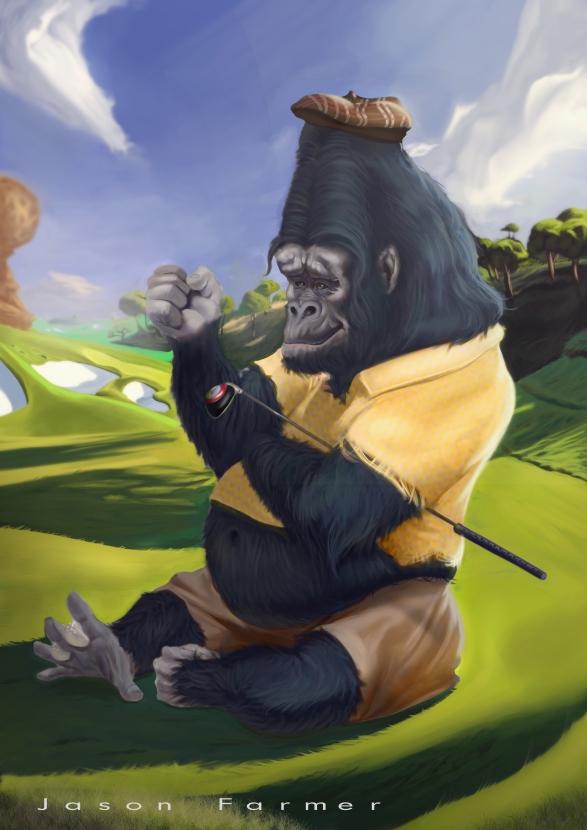 golf gorilla rework