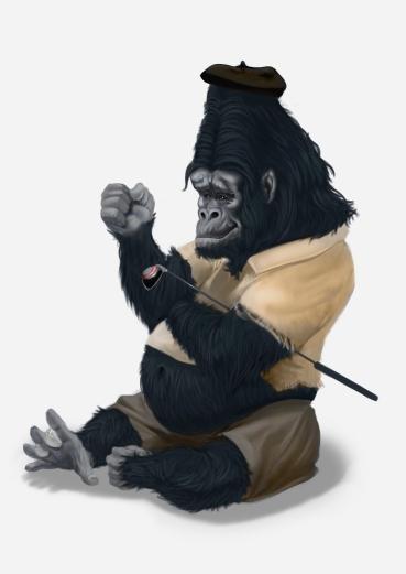 golf gorilla